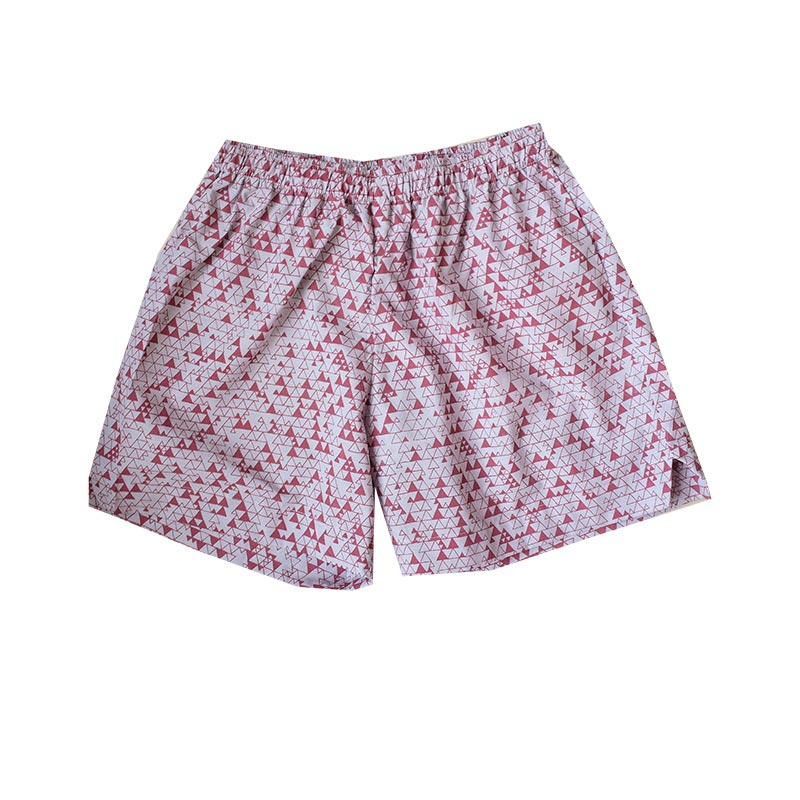 pijama short triangulos